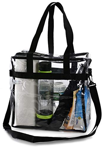 Clear Tote Bag NFL Stadium Approved - Shoulde...