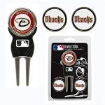 Team Golf NFL Divot Tool with 3 Golf Ball Markers...