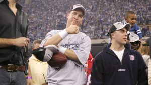 Peyton Manning shares his favorite moment from...