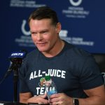 Chris Ballard discusses state of Colts O-line,...