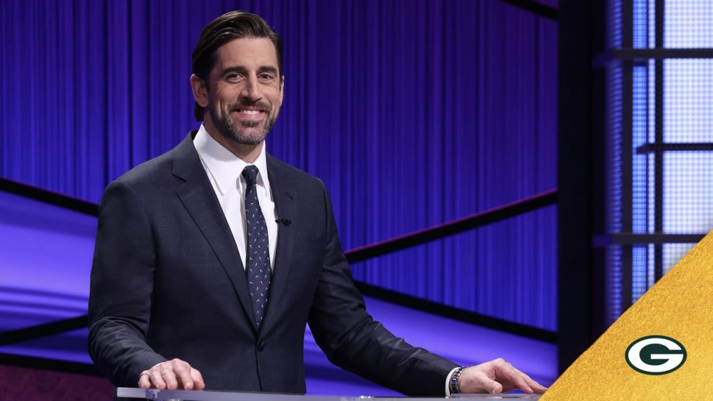 Aaron Rodgers' first week as 'Jeopardy!' host...